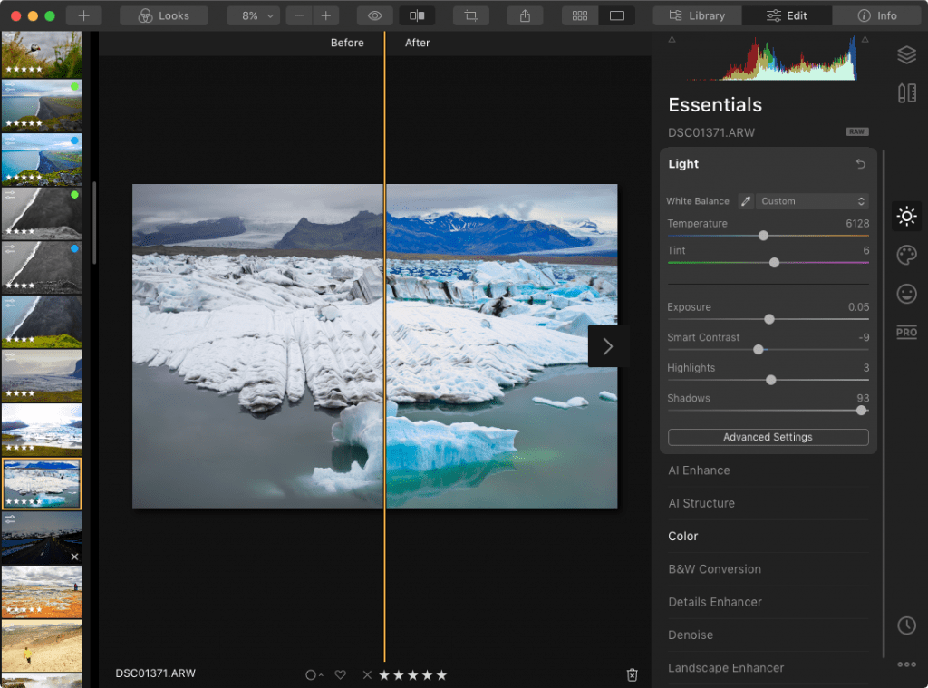 ML applied to color image in Avalanche