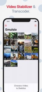 video galllery app by creaceed on ios