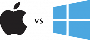 Comparison between apple and microsoft