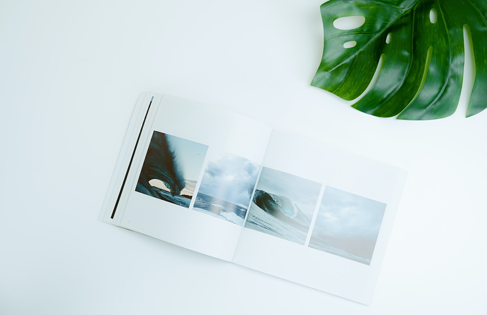 Printed book photography and environement matter