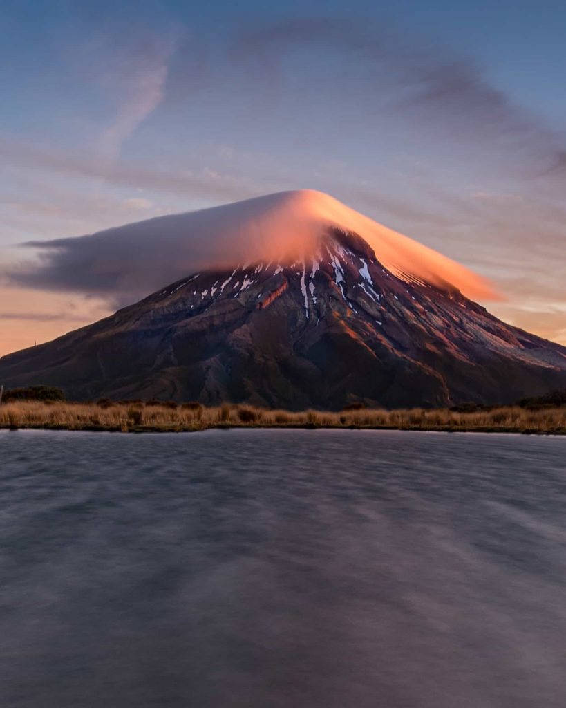 Beautiful montain in New Zealand