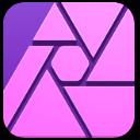 Affinity logo application